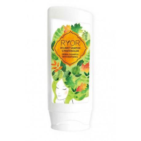 RYOR Bylinný šampon s panthenolem
