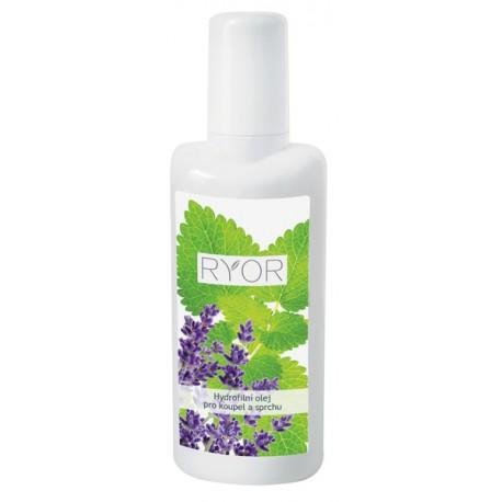 Hydrofilní olej pro koupel a sprchu