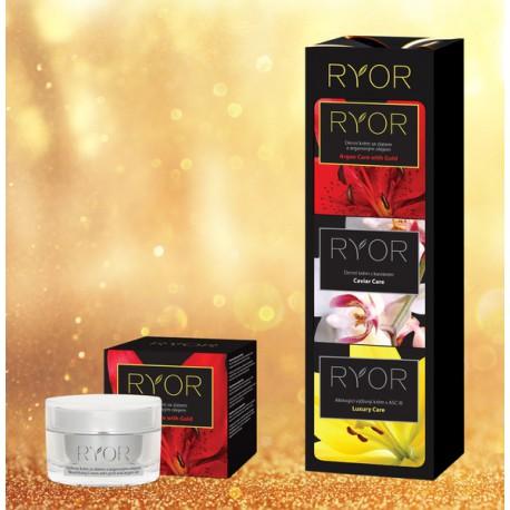 RYOR Výživný krém se zlatem a arganovým olejem