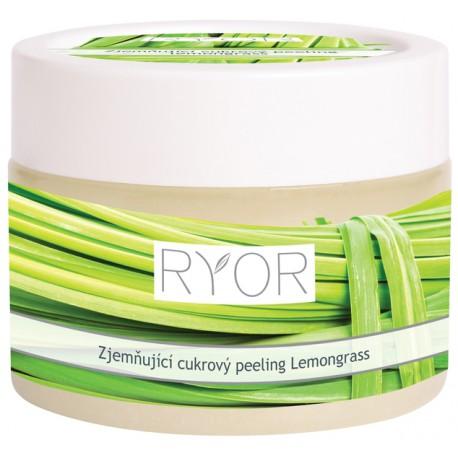 RYOR Zjemňující cukrový peeling Lemongrass