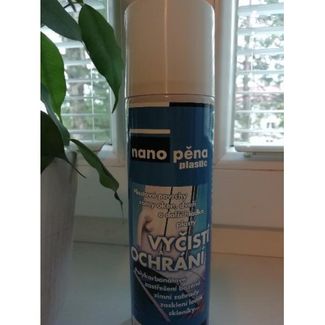 NANOPĚNA 250ml. Original plastic