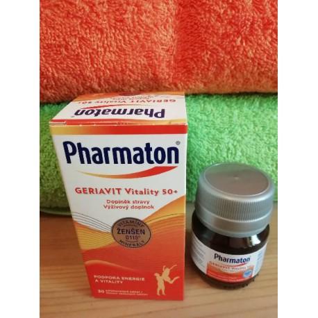 Geriavit Pharmaton Vitality 50+