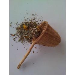 Ženšen řezaný kořen 20g. Radix ginseng sc.