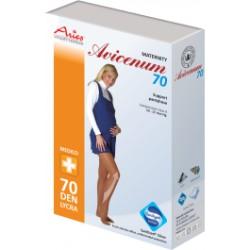 TĚHOTENSKÉ podpůrné punčocháče 70DEN antibakteriální