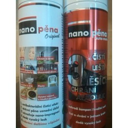NANOPĚNA 250ml.Original + NANOPĚNA 250ml.Original EXTRA SILNÁ! SET 1+1