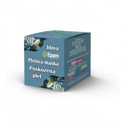 Pro poškozenou pleť - pleťová jílová maska Epam 110 g