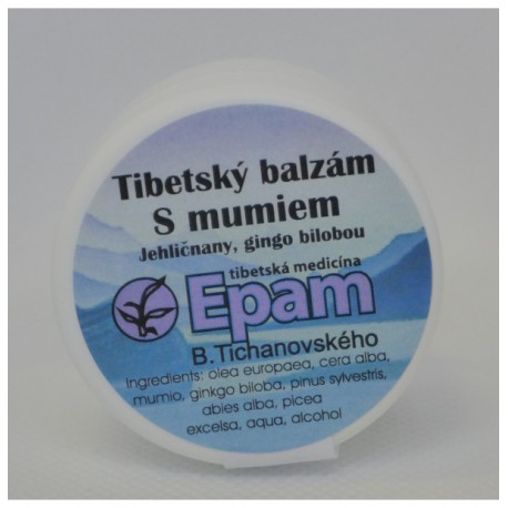 S mumiem - balzám Epam 20 g